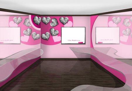 интерьер проект для школы студии стиля  THE IT GIRL CLUB