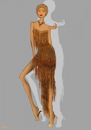 Платья для танцев