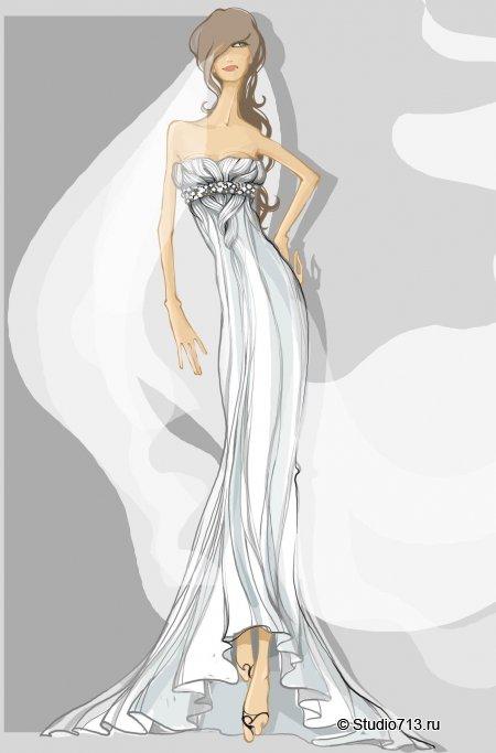Вечерняя и свадебная мода